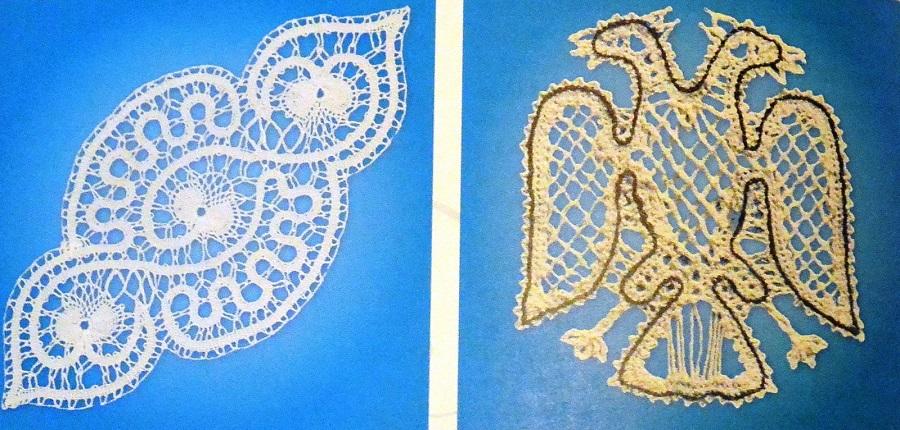 Лабиринт, двуглавый орел. Коллекция А.И. Юкш-Меос