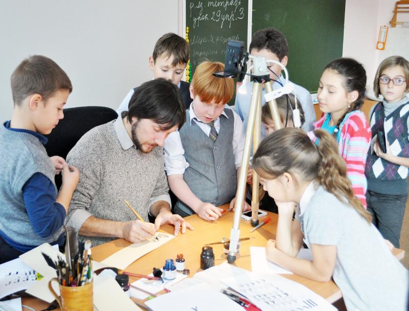 Выездное мероприятие Скриптория. Мастер-класс в школе №1357
