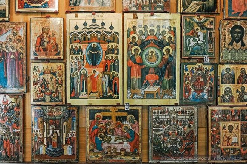Уникальное собрание икон в Ветковском музее