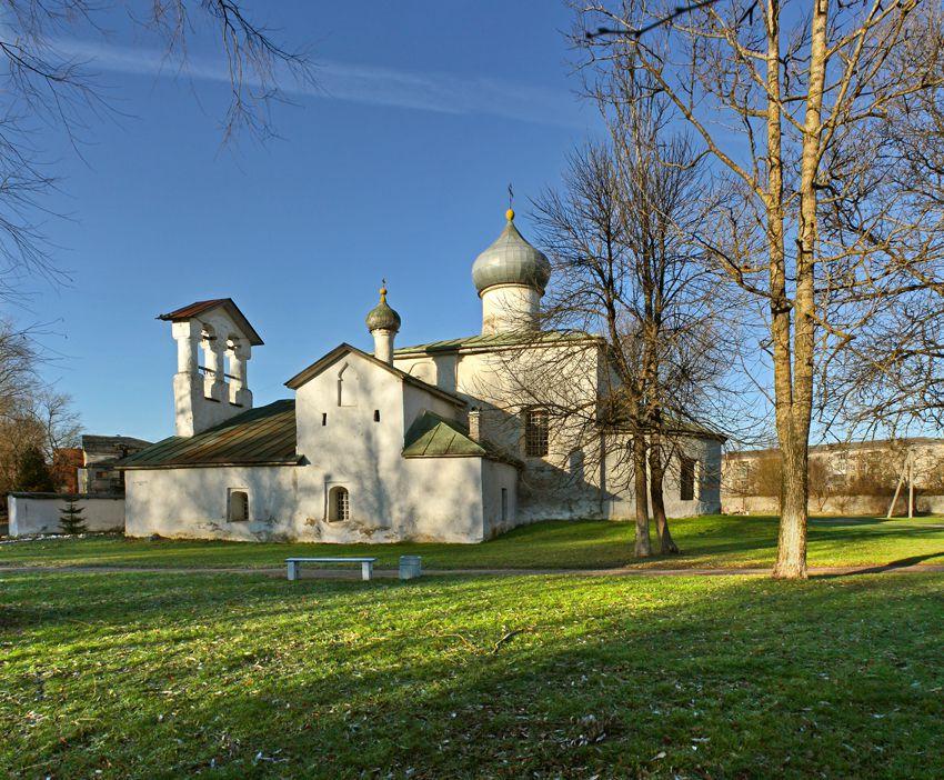Церковь Спаса Нерукотворенного образа с Жабьей Лавицы в Пскове