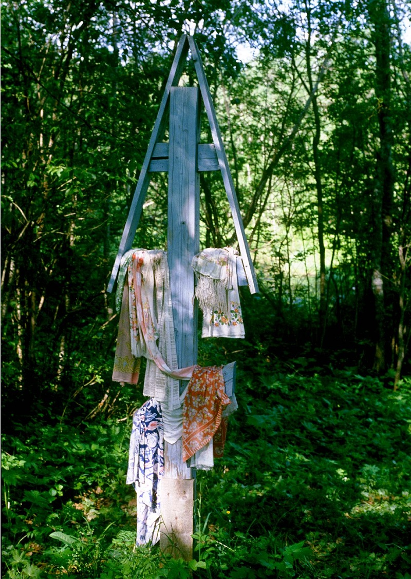 Обетный крест. Д. Поздышево, Каргапольский район Архангельской области