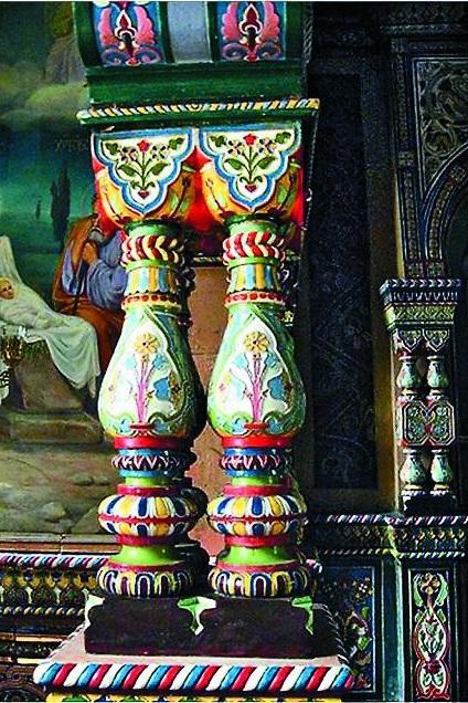 Фрагмент керамического иконостаса Троицкой церкви г. Буэнос-Айроса