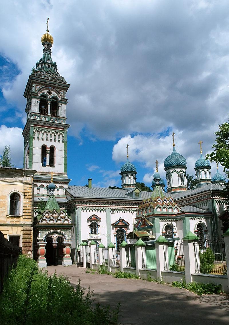Бывший единоверческий храм святителя Николы на Рогожском кладбище (ныне в храме совершаются только новообрядческие службы)