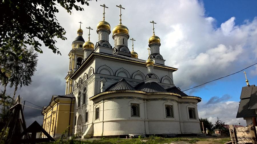 Храм архангела Михаила в Михайловской слободе