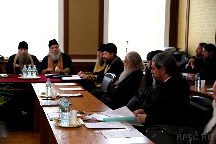 Участники совета Митрополии 2017