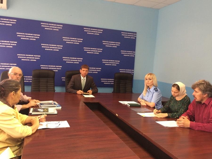 Встреча прокурора г. Саратова Воликова Владимира Алексеевича со старообрядцами города