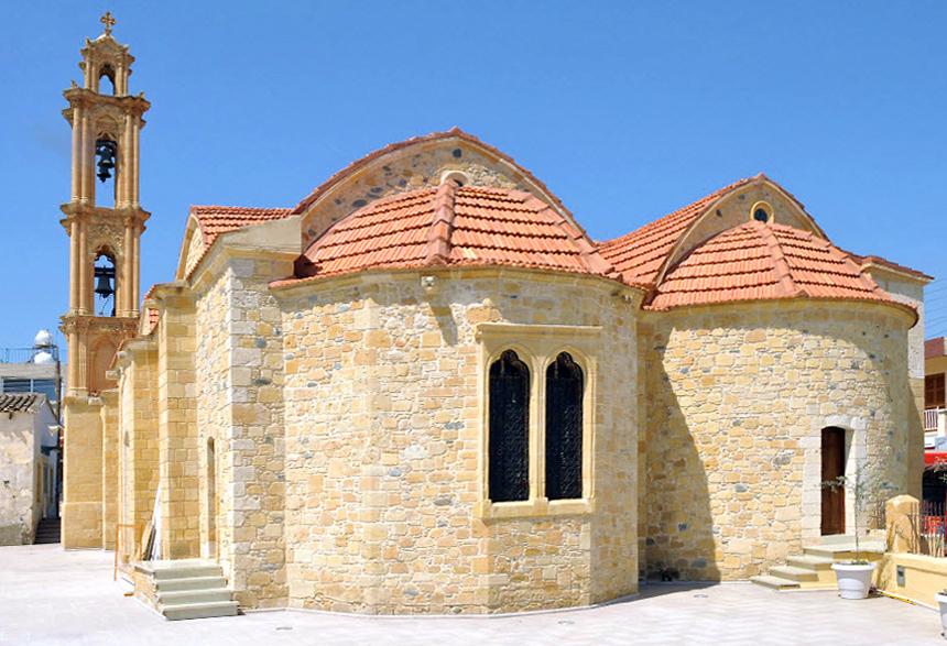 Храм священномученика Киприана и мученицы Иустины в д. Менико (Кипр)