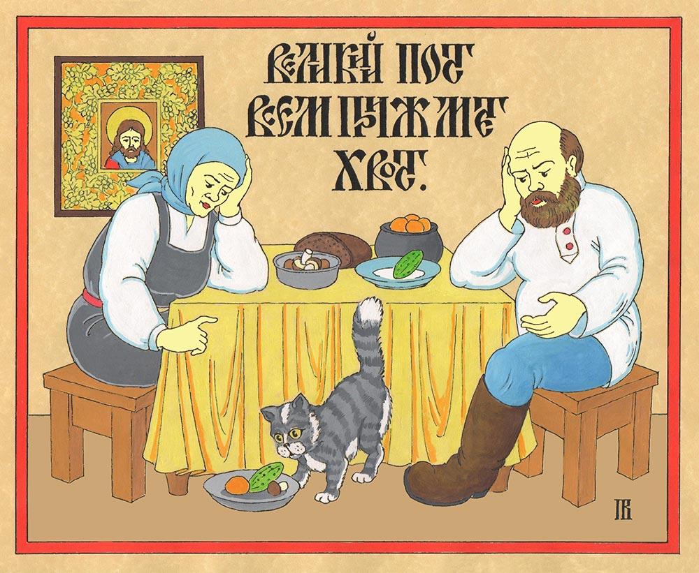 Лубок работы Павла Варунина