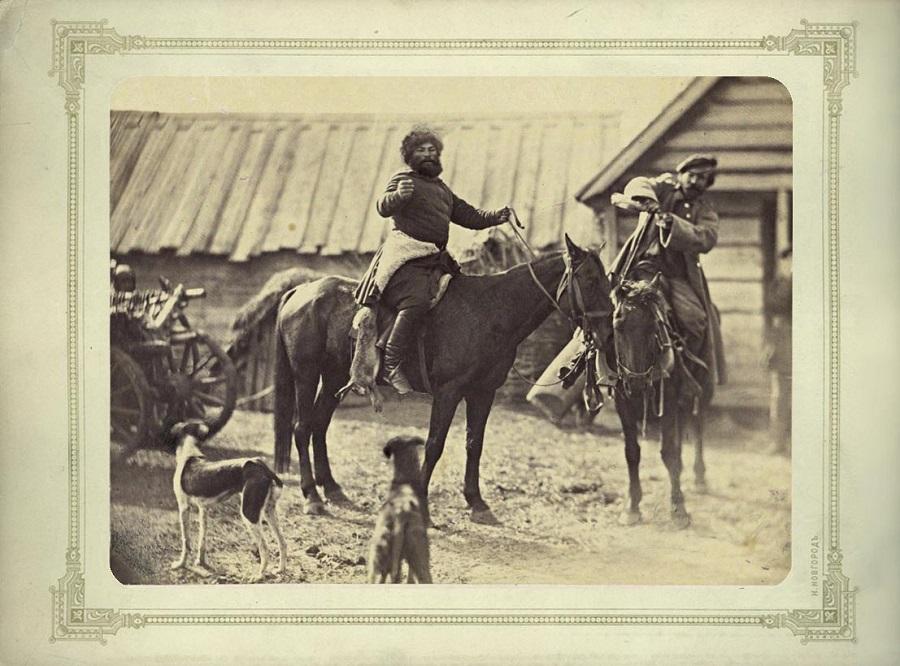 Фото донских казаков, 1875-1876 гг.
