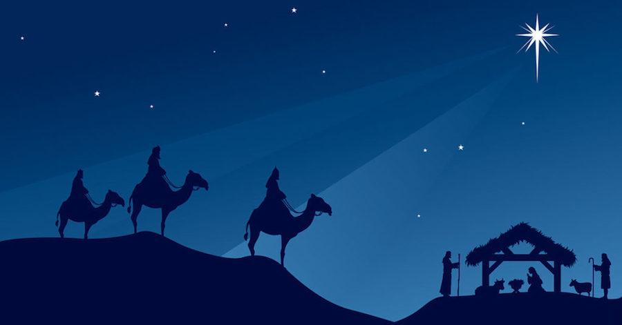 Восточные мудрецы узнали о рождении Христа по необычной звезде