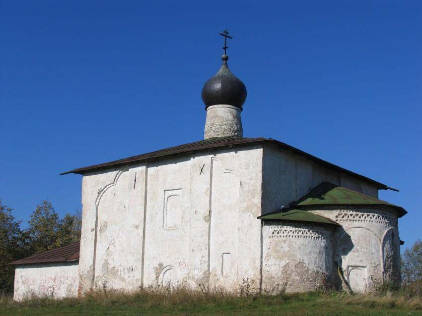 Церковь Козмы и Дамиана бывшего Гремяцкого монастыря. Псков