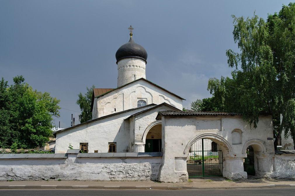 Церковь Козмы и Дамиана с Примостья. Псков
