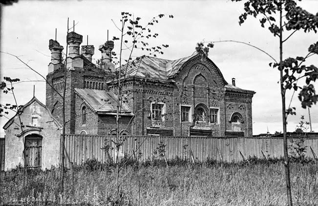 Бывшая старообрядческая церковь в Шуе (городской архив г. Шуи, фонд Л.Н. Шилова, предположительно начало 1960-х гг.)