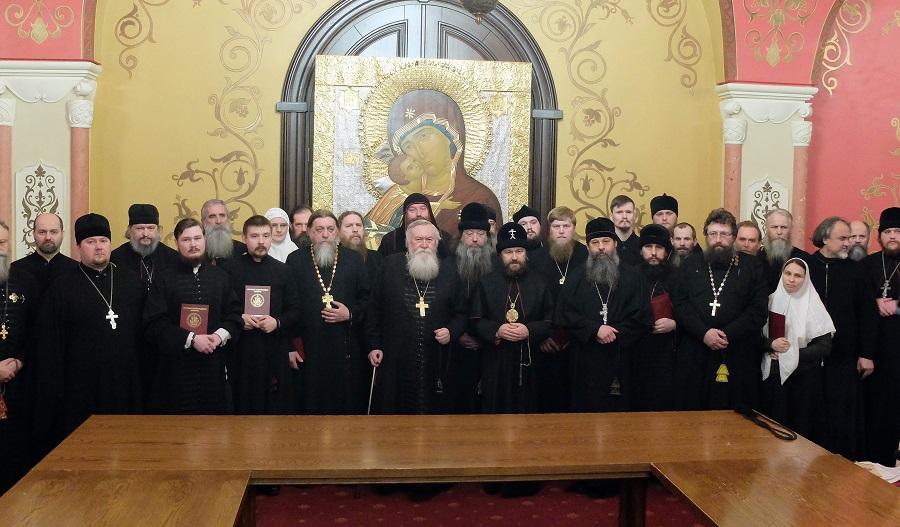 Участники конференции «Старый обряд в жизни Русской Православной Церкви: прошлое и настоящее»