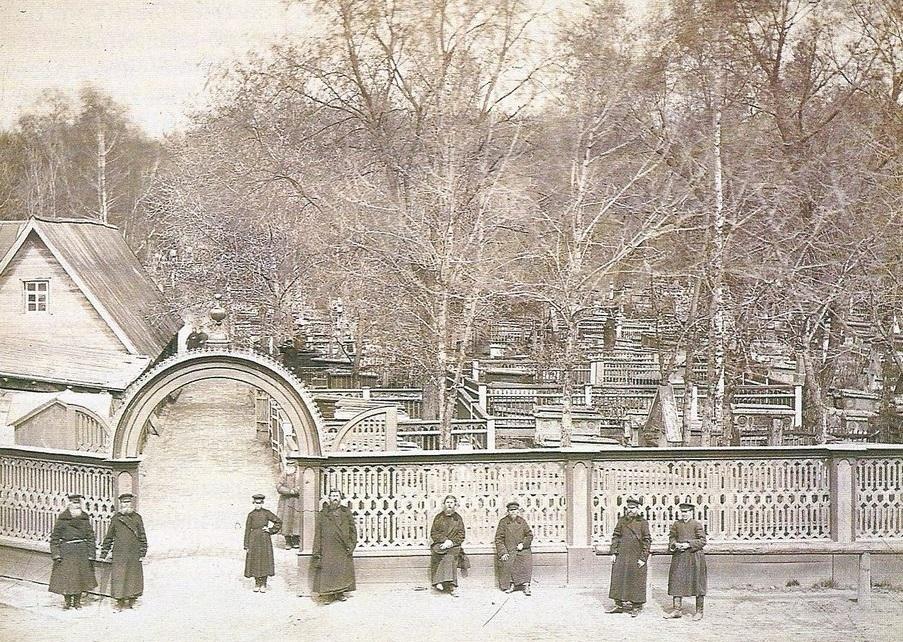 Рогожское старообрядческое кладбище, 1900–1910-е годы