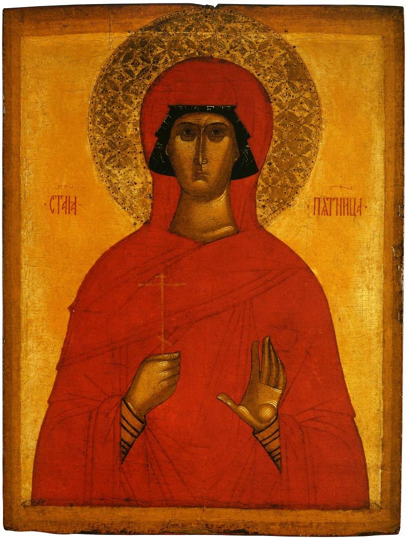 Святая Парасковия Пятница. Конец XIV — начало XV вв.