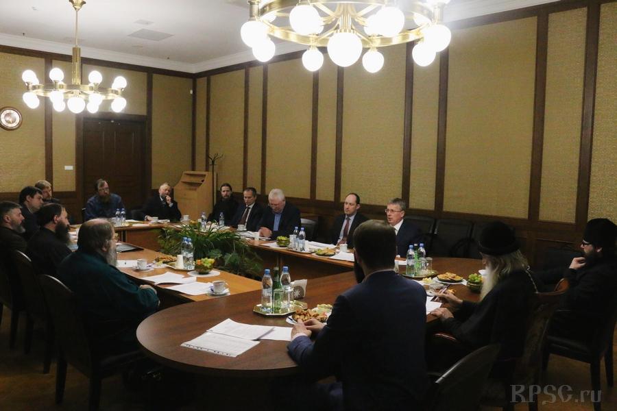 Заседание совета благотворительного фонда «Правда Русская» 12 марта 2018 года