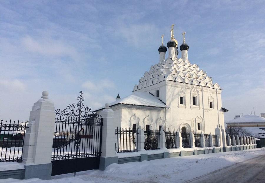 Храм святителя Николы Чудотворца. Коломна