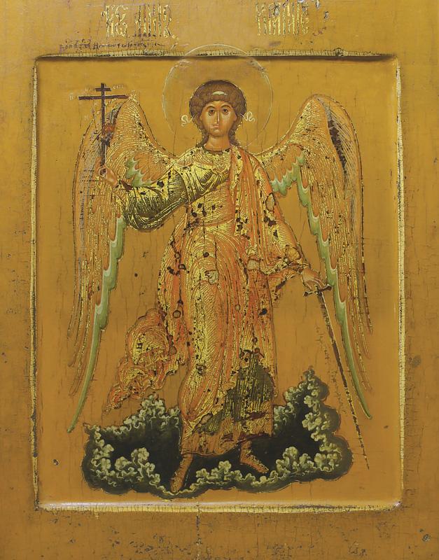 Икона. Ангел-хранитель. 17 век (ГИМ)