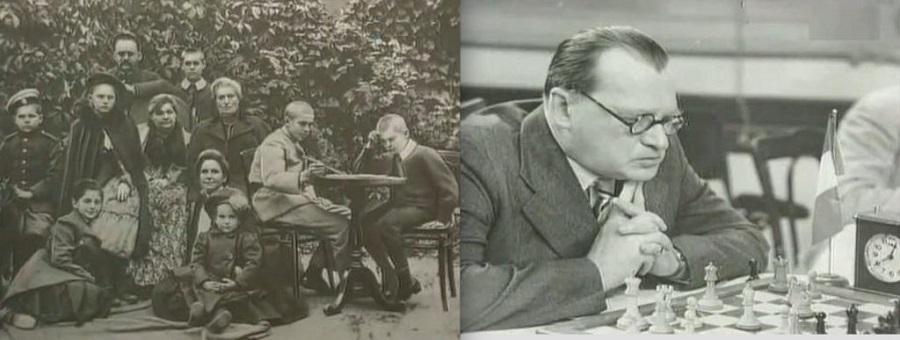 Фото с выставки «60 лет со дня смерти Александра Алехина»