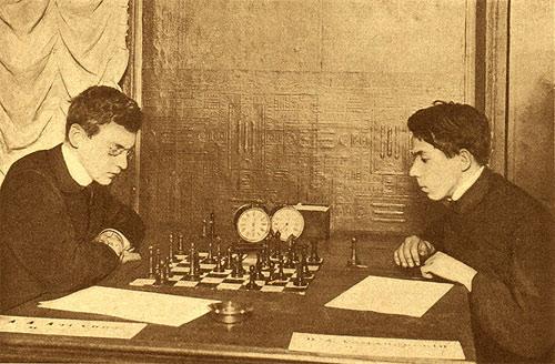 На Всероссийском турнире любителей 1909 года