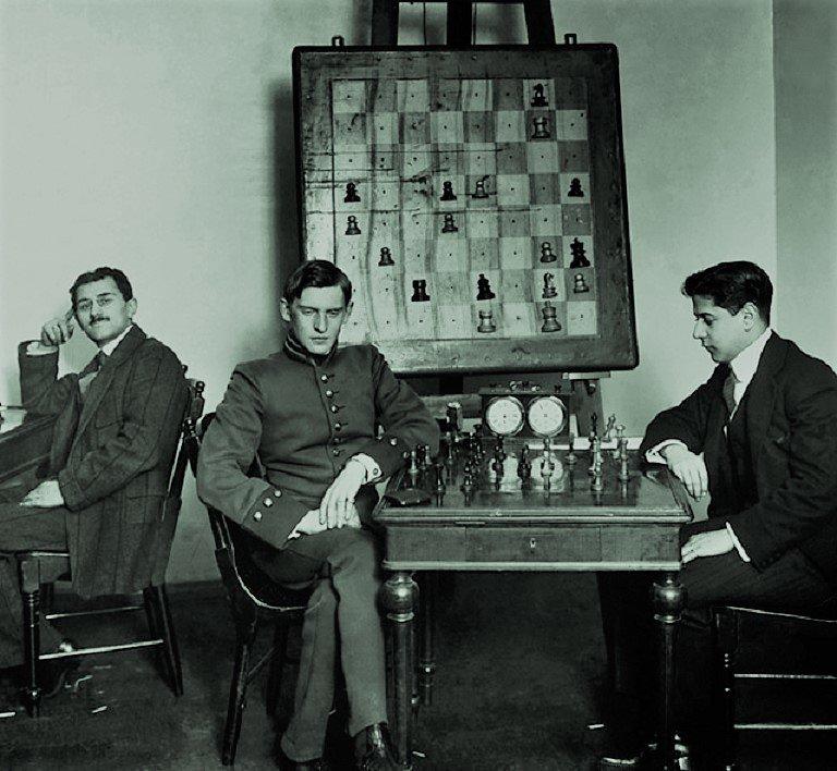 Хосе Рауль Капабланка против Александра Алехина, 1913