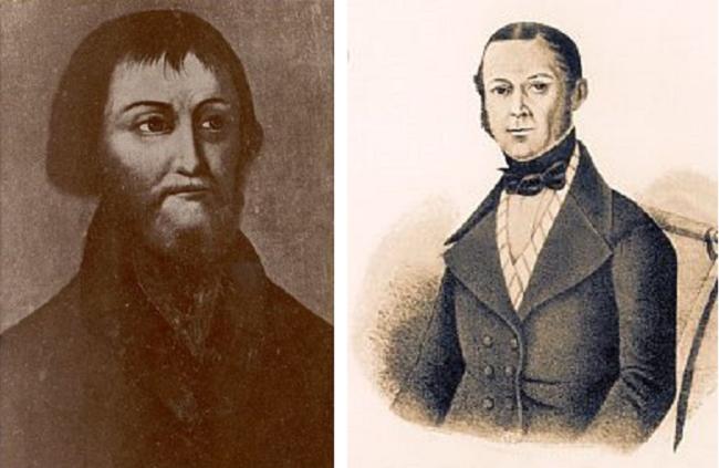 Василий �ванович Прохоров (слева) и Тимофей Прохоров