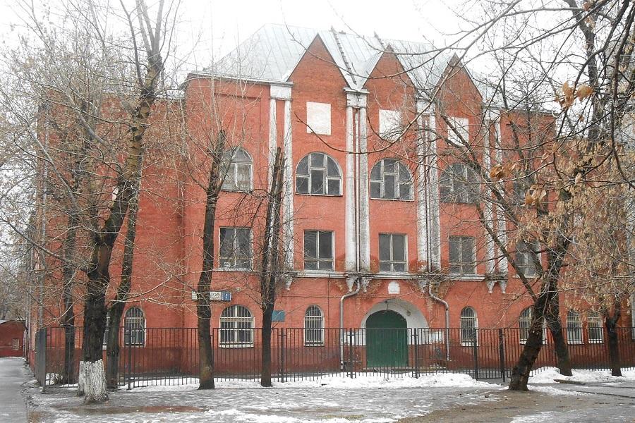 Здание бывшего Московского старообрядческого института. Рогожское