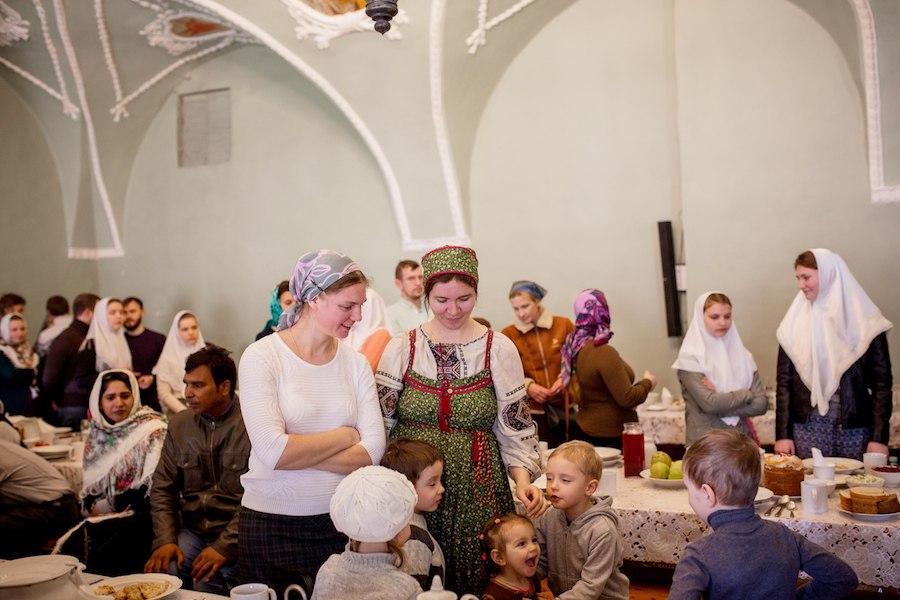 Старообрядцы в Лавре 2018