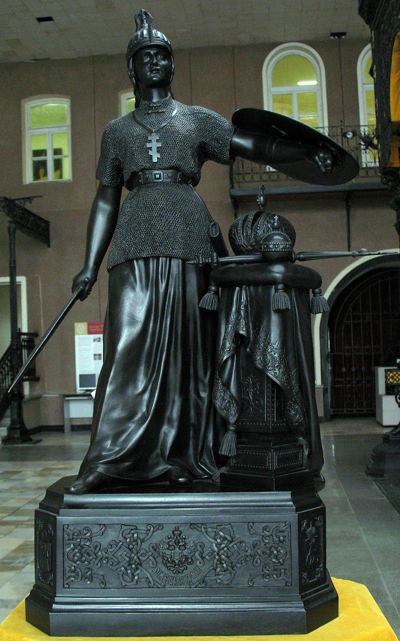 Скульптура «Россия» Н.А. Лаверецкого