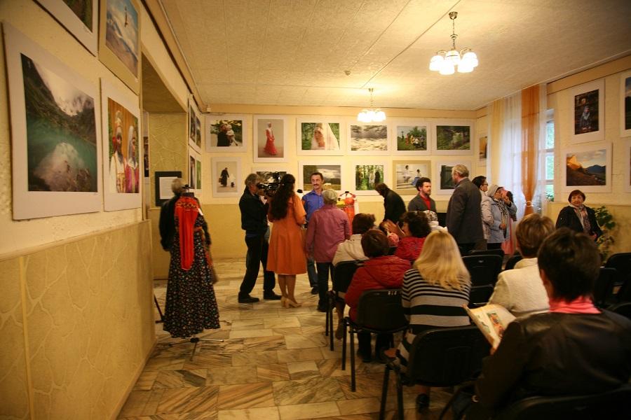 Открытие выставки «Сибирь. Природа. Староверы»