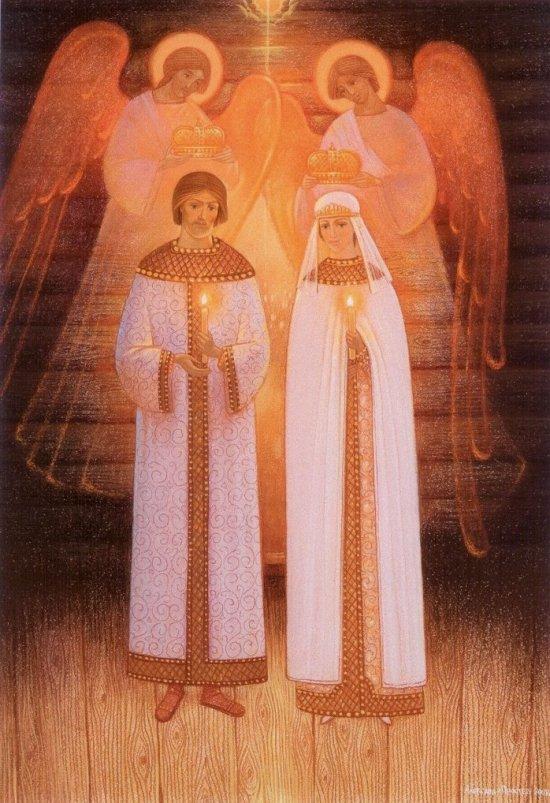 А.В. Простев. Таинство венчания. 2008 год