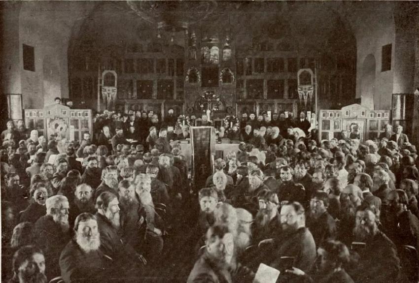 Первый Всероссийский Собор Древлеправославной Поморской Церкви, 1909 год