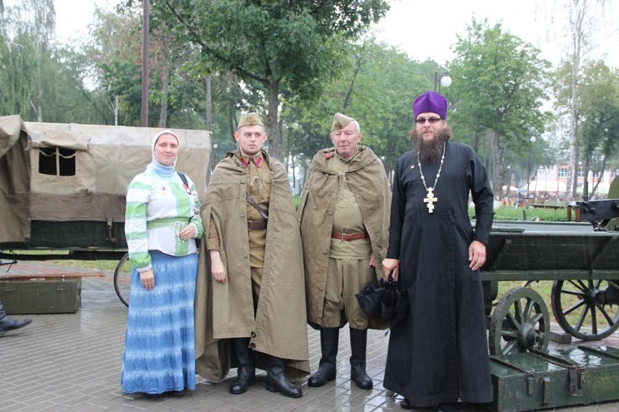 В рамках фестиваля гости посетили площадку «Победа на всех одна»