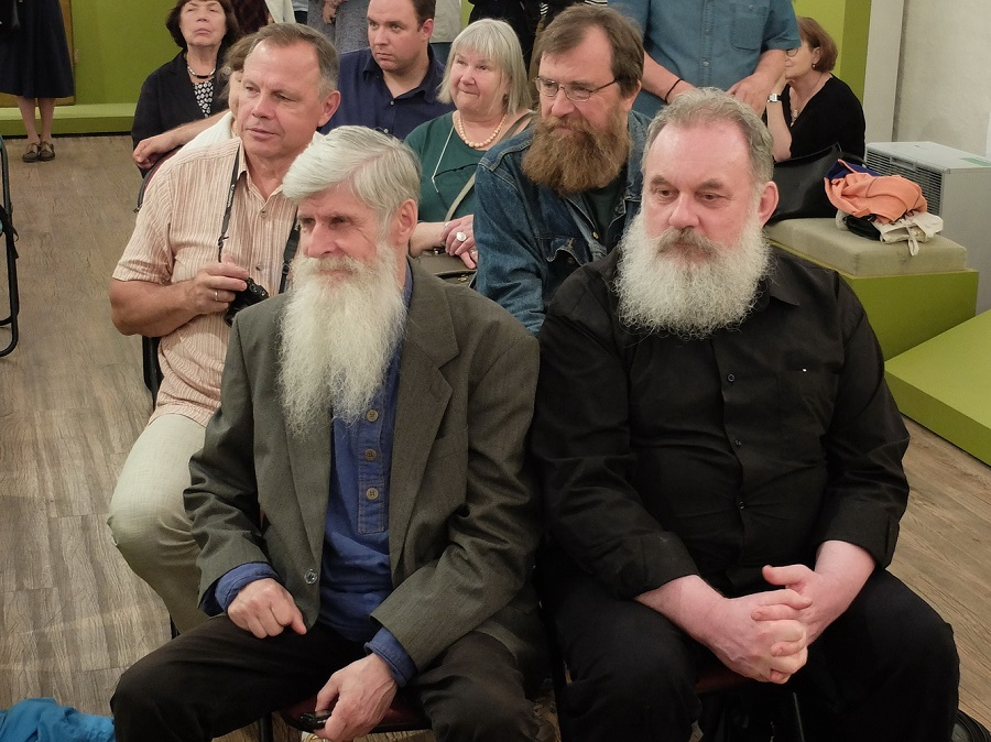 Представители безпоповских согласий на открытии выставки