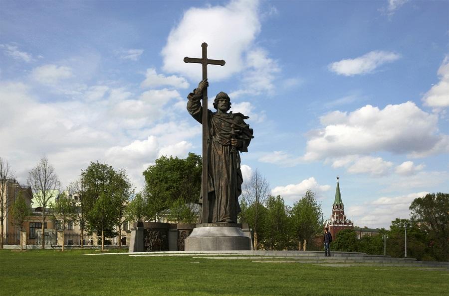 Князь Владимир где похоронен