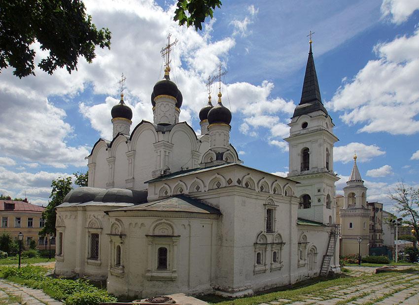Церковь святого князя Владимира равноапостольного в Старых Садех в Москве