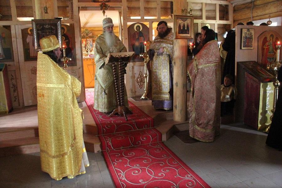 Проповедь митрополита в новоосвященном храме