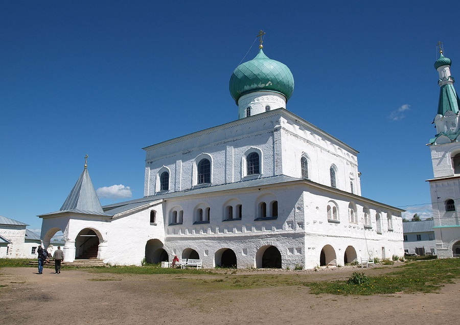 Троицкий собор Александро-Свирского монастыря