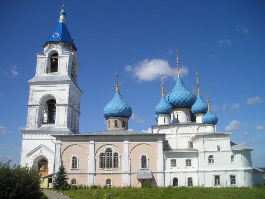 Церковь Спаса Преображения в селе Пурех Нижегородской области