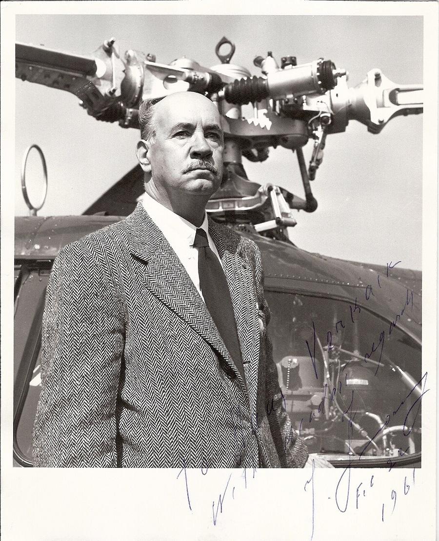 Игорь Иванович Сикорский (1889-1972) — русский и американский изобретатель, эмигрировавший из России после Октябрьской революции. Владелец многих патентов в авиации, фактический отец мирового вертолетостроения