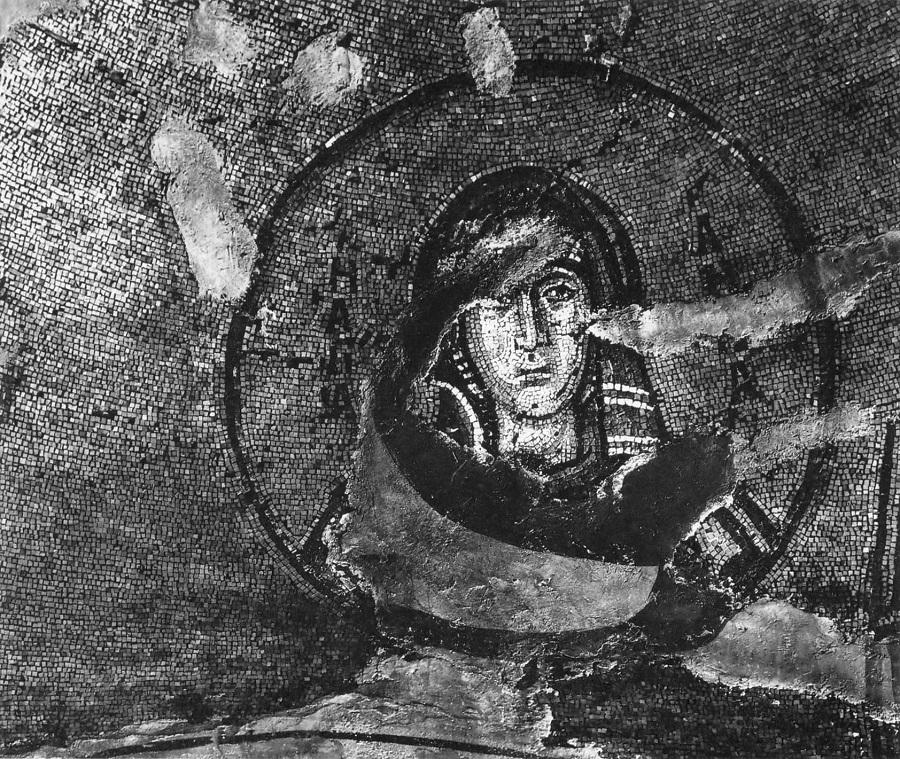 Святая праведная Анна. Церковь Успения, Никея, Изник. 1065–1067 гг.