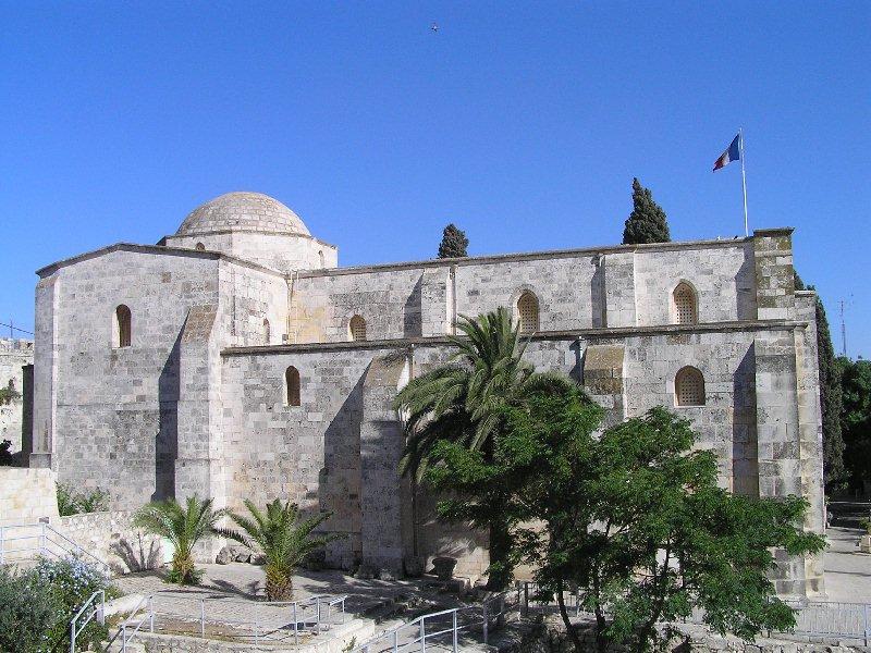 Базилика святой Анны в Иерусалиме, XII век