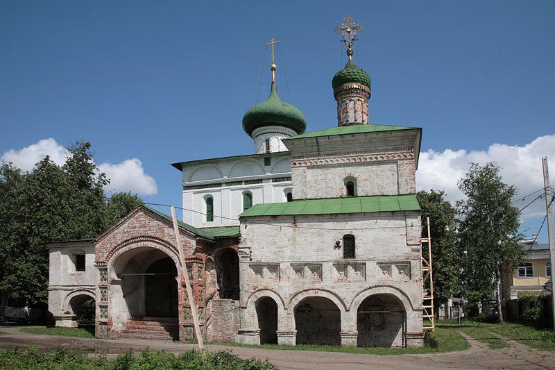 Христорождественская церковь с приделом святых праведных Иоакима и Анны в Ярославле