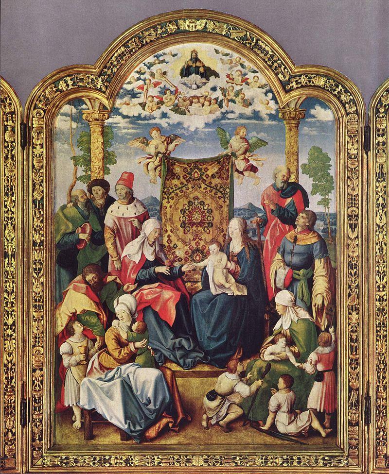 Святая родня, Вольф Траут, 1514 год