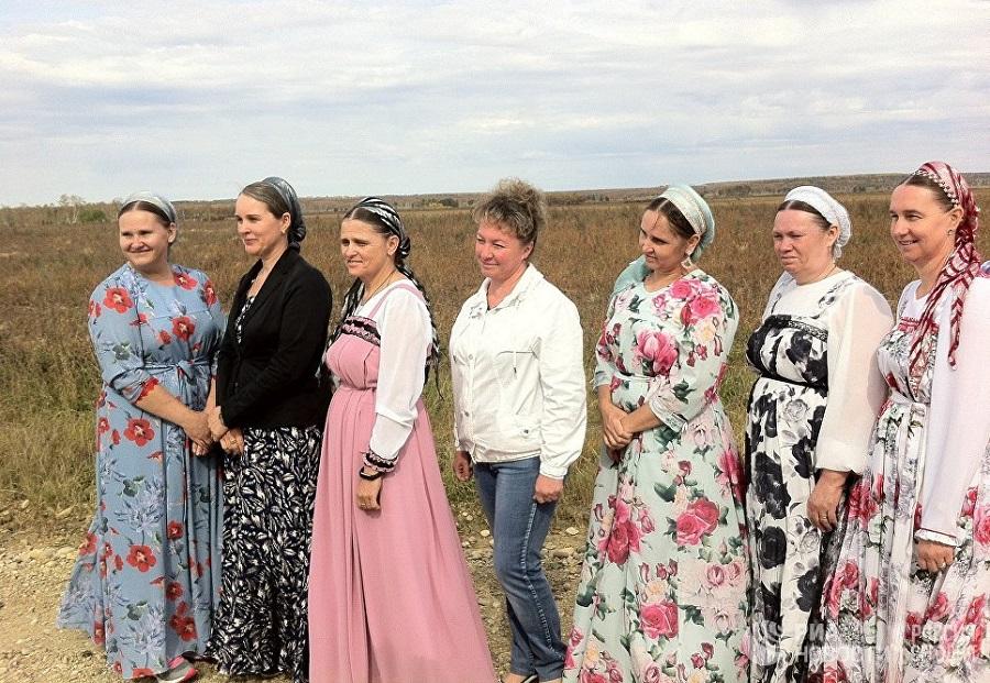 Делегация староверов в Амурской области