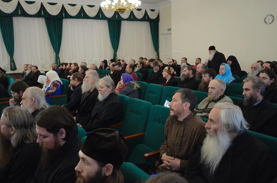 Участники Освященного Собора РПсЦ 2018 года