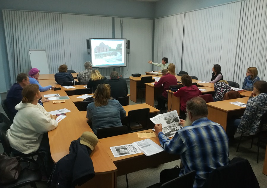 Лекция М. Гусева о старообрядцах Екатеринбурга, октябрь 2018 года