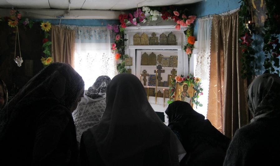 Праздничное богослужение в Ключевской поморской общине