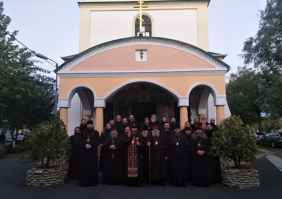 Участники Освященного Собора Белокриницкой Митрополии, 2018 год